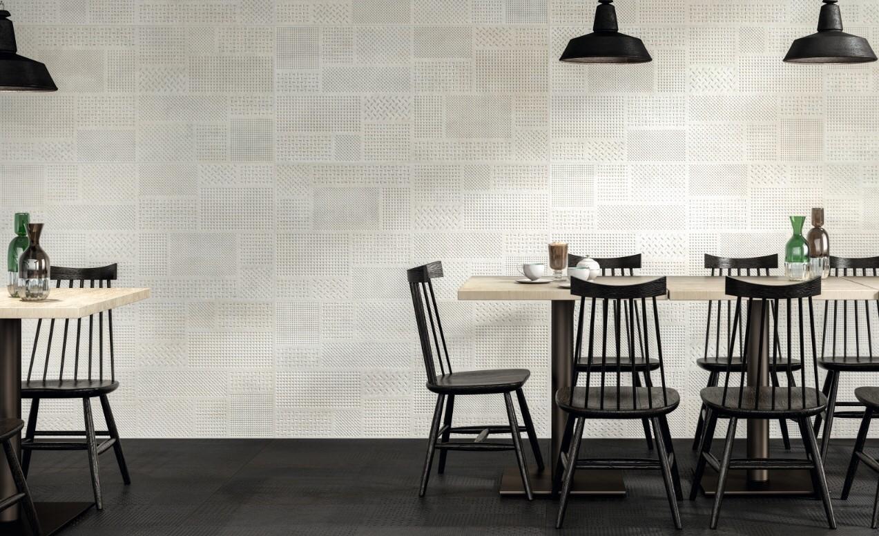 金屬磚,白色,義大利